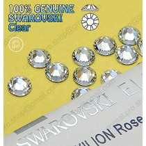 6601525bdb59 Genuine Swarovski (Hotfix  No-Hotfix) Crystal Clear (001) Flatback  Rhinestones - Crystal Clear - Colors - Hotfix   No-Hotfix