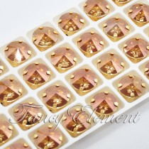 Glass Rivoli (1122) Golden Shadow (All Size) Fancy Stone