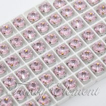 Glass Rivoli (1122) Light Rose Pink (All Size) Fancy Stone