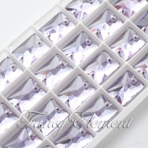 Glass Rectangle (3250) Provence Lavender (All Size) Sew On Rhinestones