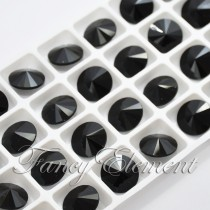 Glass Rivoli (1122) Jet Black (All Size) Fancy Stone