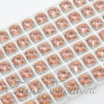 Glass Rivoli (1122) Light Peach (All Size) Fancy Stone